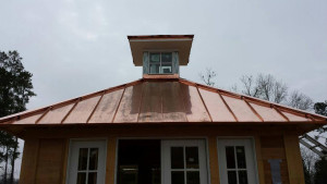 Copper roofing installation - R.A. Woodall & Son Contracting - Williamsburg VA