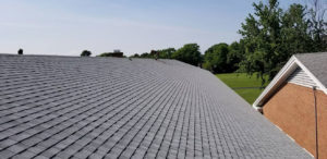 Shingle roof by R.A. Woodall Roofing - Williamsburg - Newport News - Hampton Roads area of Virginia